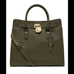 *ON HOLD* NWT RARE MK HAMILTON BAG MICHAEL KORS